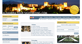 Alhambra tours website